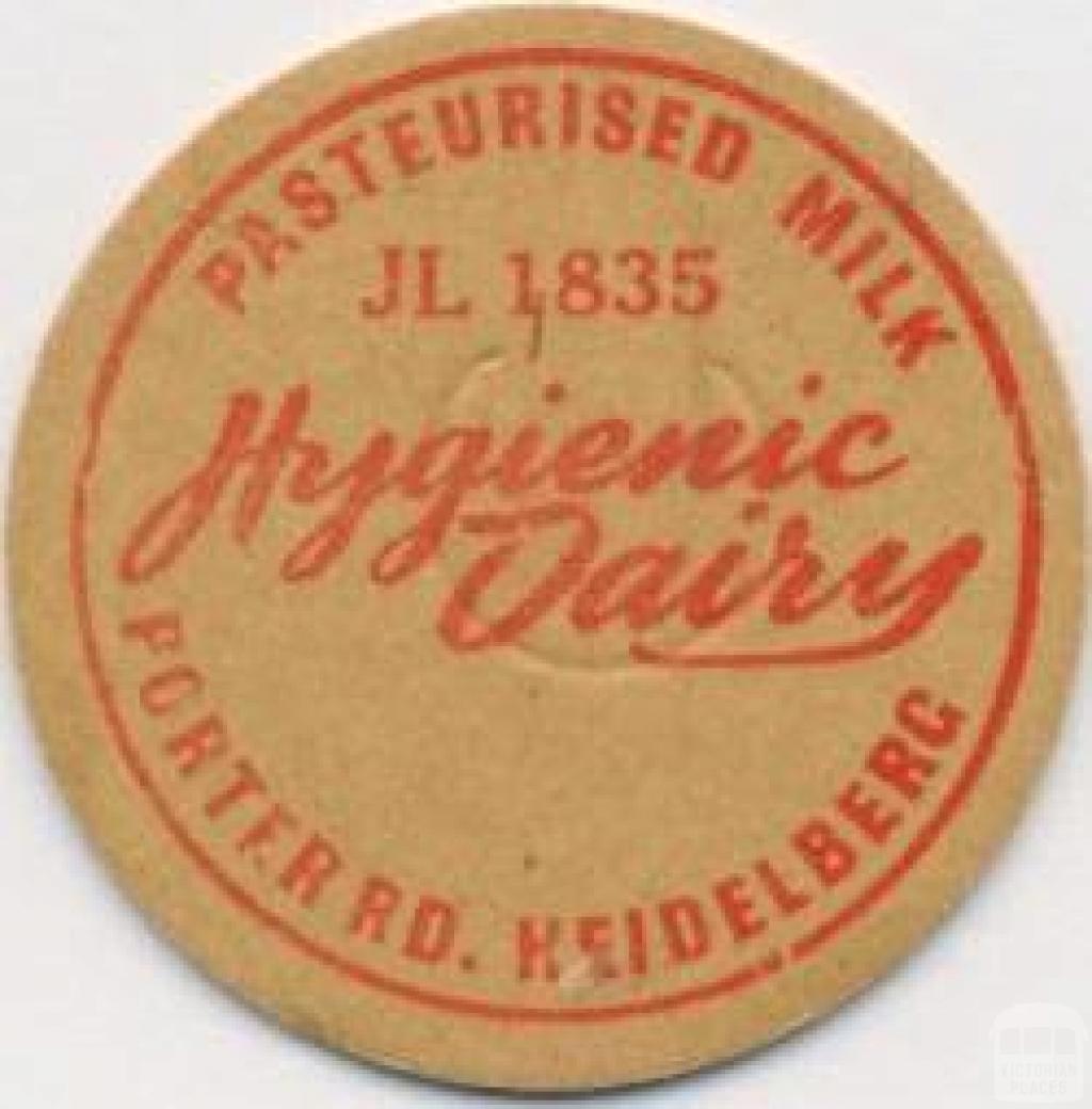 Hygienic Dairy, Porter Road, Heidelberg