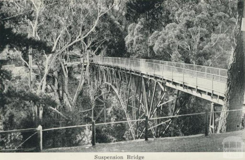 Suspension Bridge, Hepburn Springs