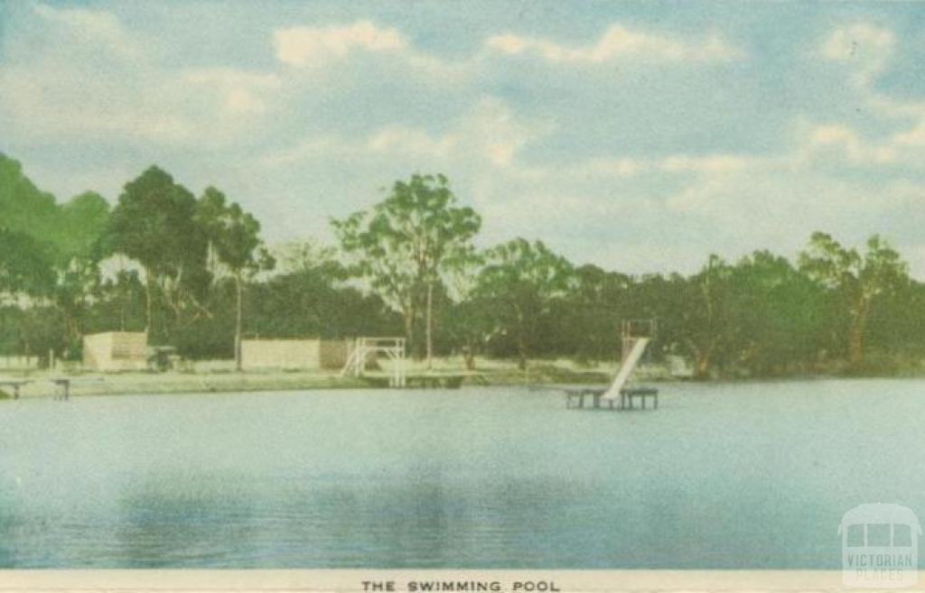 The Swimming Pool, Horsham, 1951