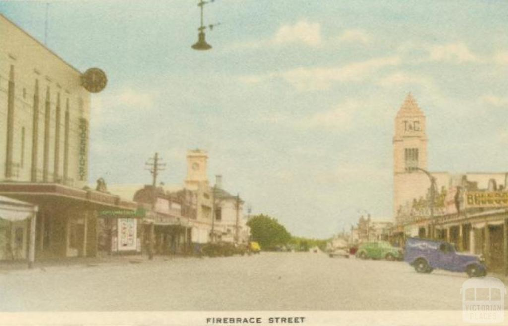 Firebrace Street, Horsham, 1951