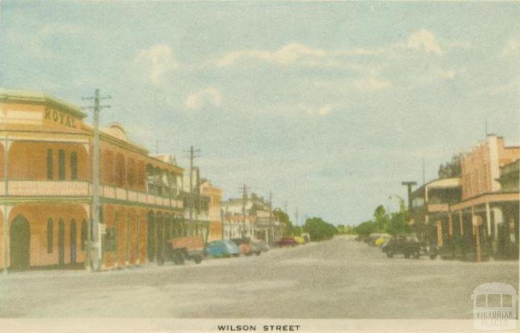 Wilson Street, Horsham, 1951