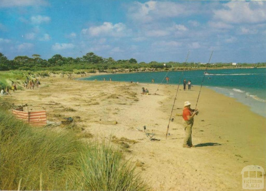 The Beach looking towards the Jetty, Inverloch, 1997