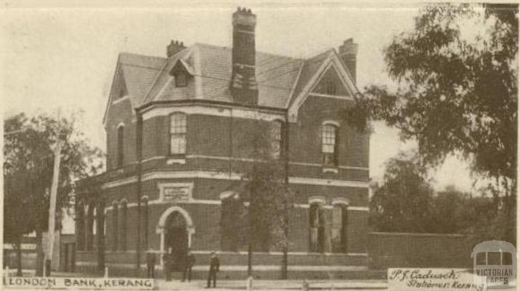 London Bank, Kerang, 1922