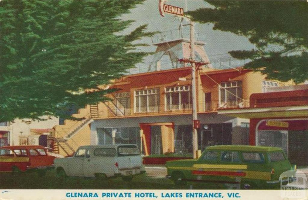 Glenara Private Hotel, Lakes Entrance