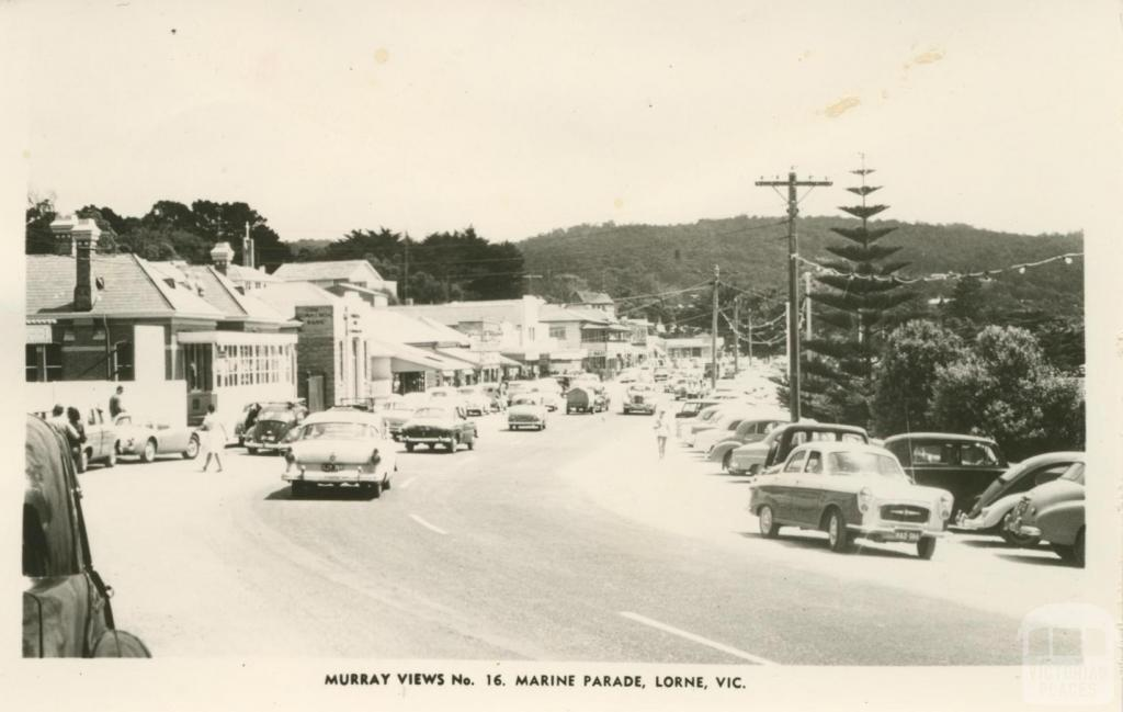 Marine Parade, Lorne, 1963