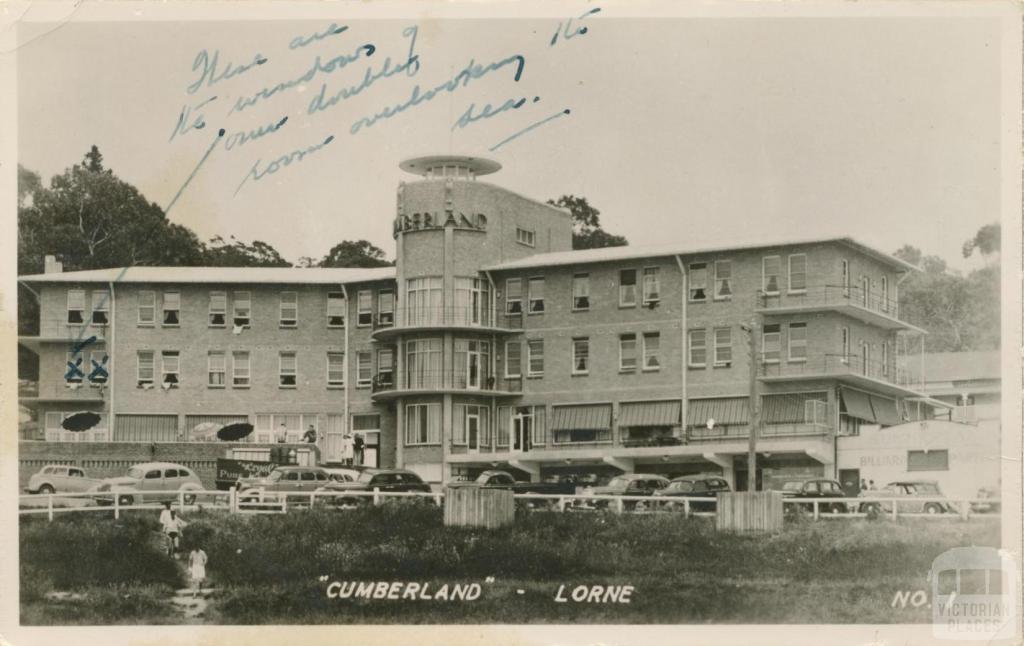 Cumberland, Lorne