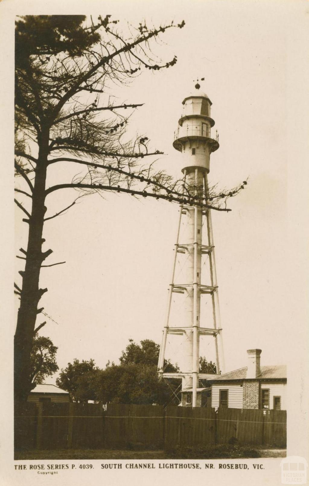 South Channel Lighthouse, near Rosebud