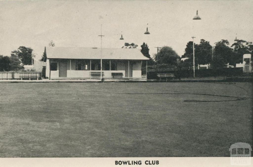 Bowling Club, Maldon, 1959