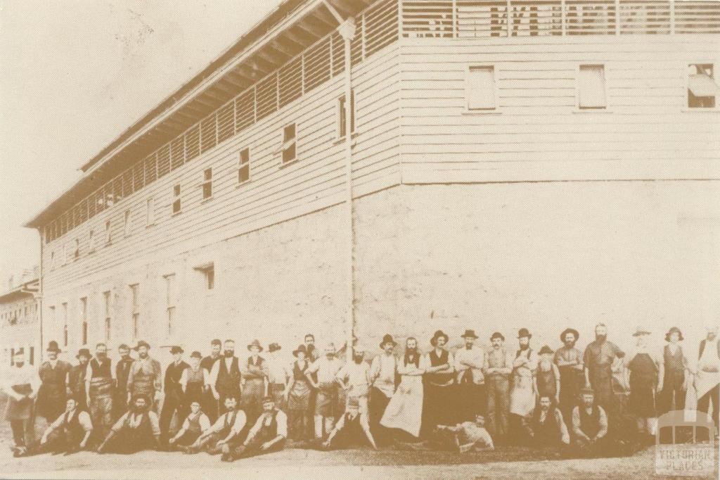 Melbourne Meat Preserving Company, Maribyrnong, 1880