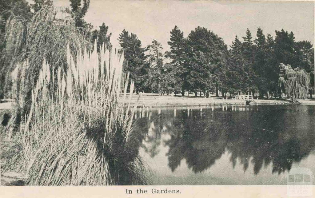 In the Gardens, Maryborough