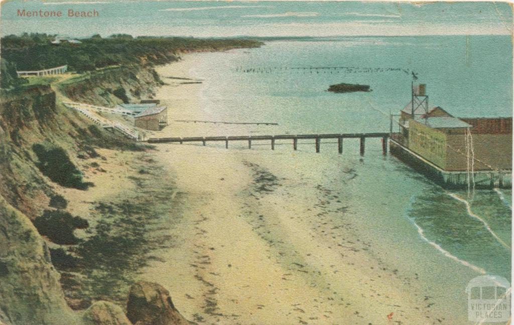 Mentone Beach, 1912