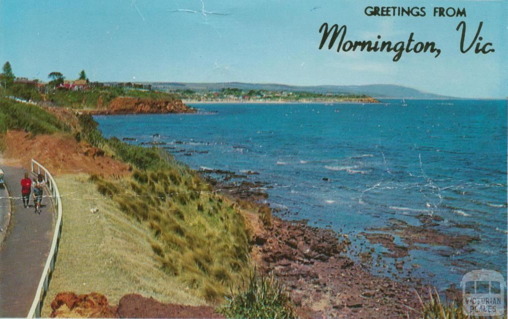 Looking towards Mt Martha and Arthur's Seat from Mornington
