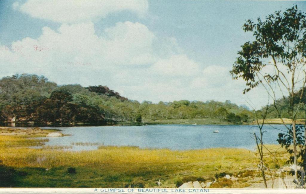 A Glimpse of Beautiful Lake Catani, Mount Buffalo, 1958