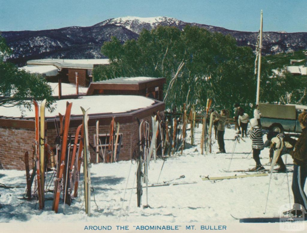 Around the 'Abominable', Mount Buller, 1974