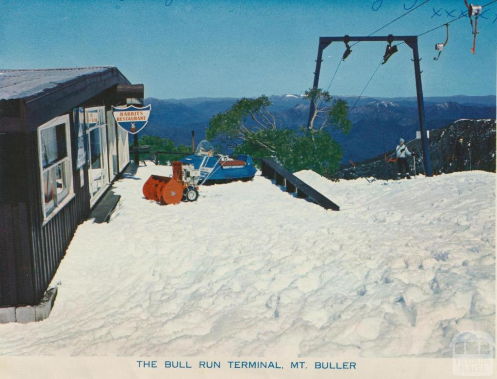 The Bull Run Terminal, Mount Buller, 1974