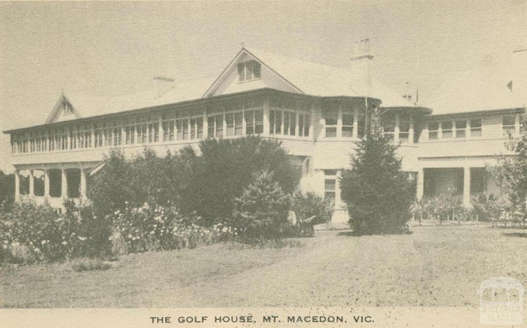The Golf House, Mount Macedon, 1949
