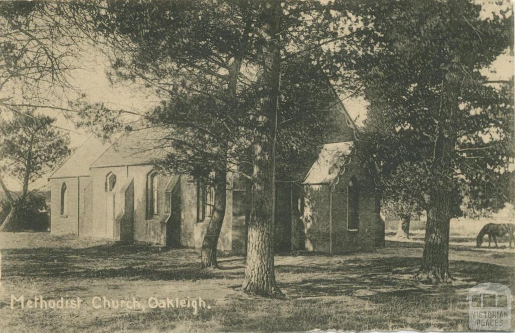 Methodist Church, Drummond Street, Oakleigh