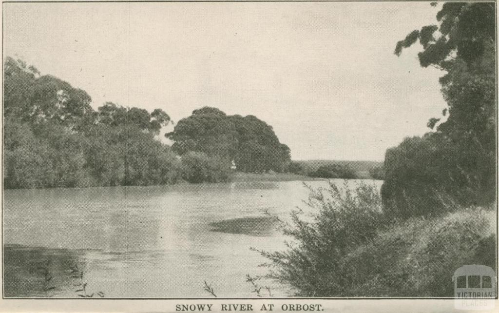 Snowy River at Orbost, 1947