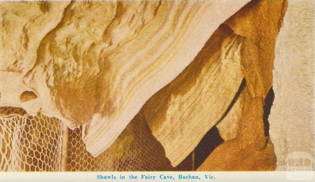 Shawls in the Fairy Cave, Buchan, 1964