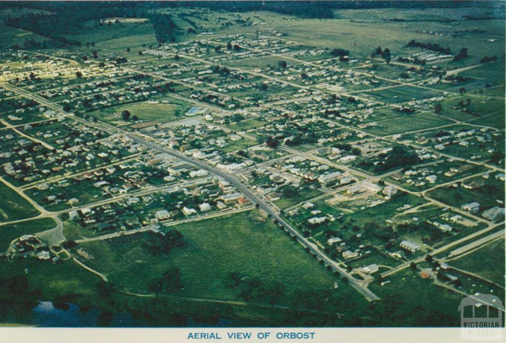 Aerial View of Orbost
