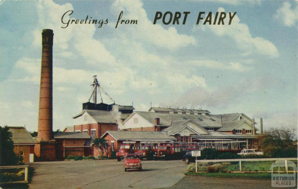 Glaxo-Allenbury factory, Port Fairy