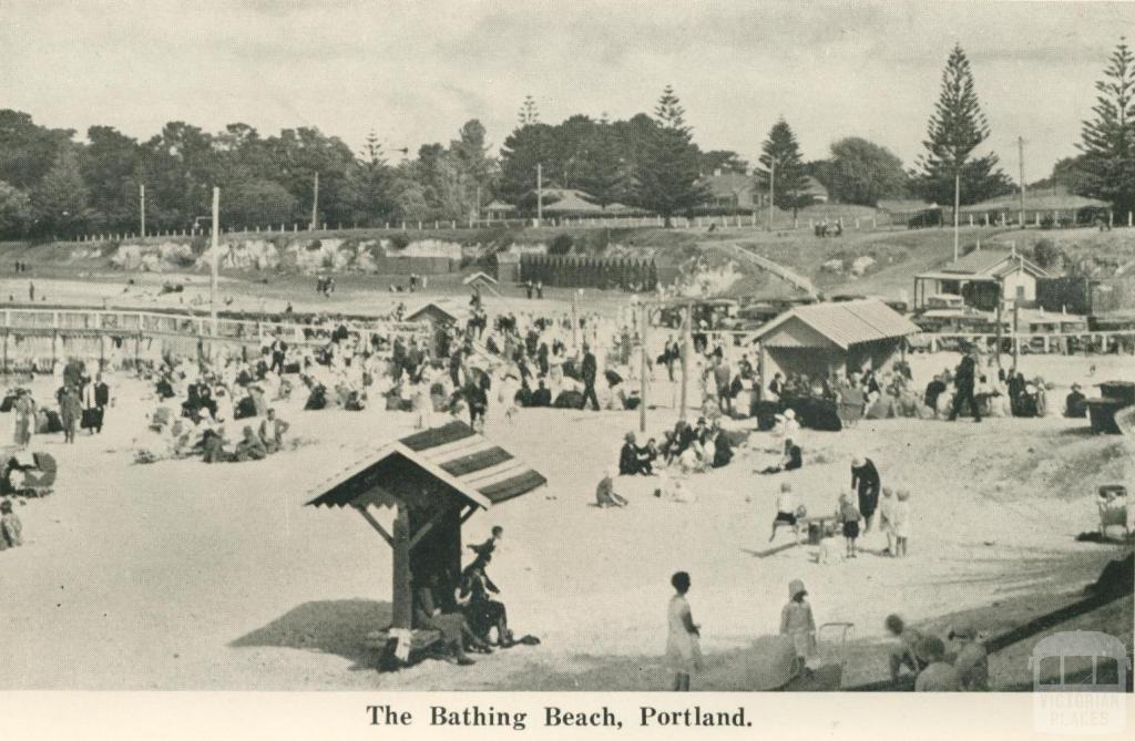 The Bathing Beach, Portland, 1948