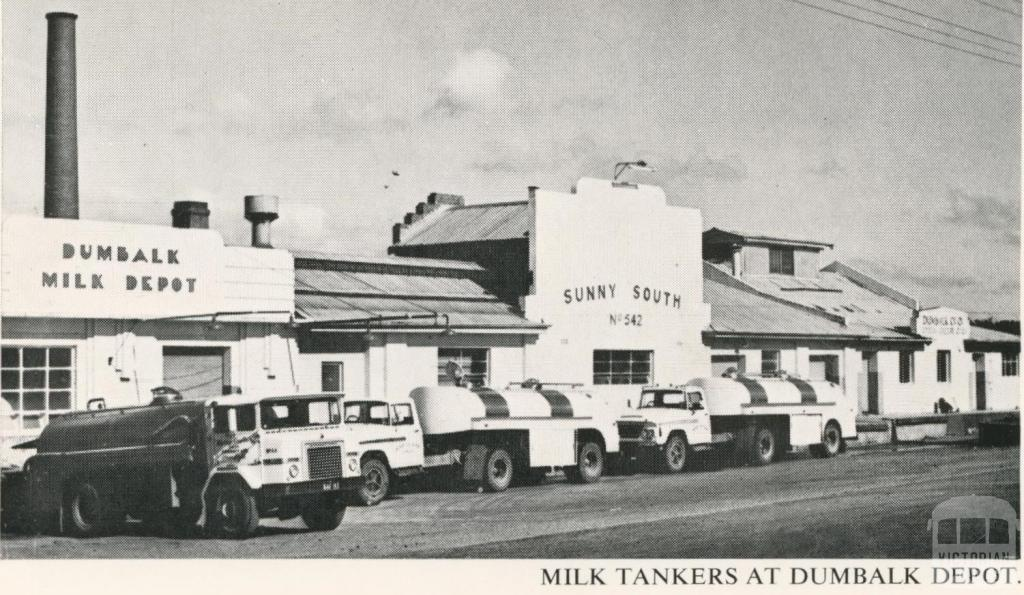 Milk Tankers at Dumbalk Depot