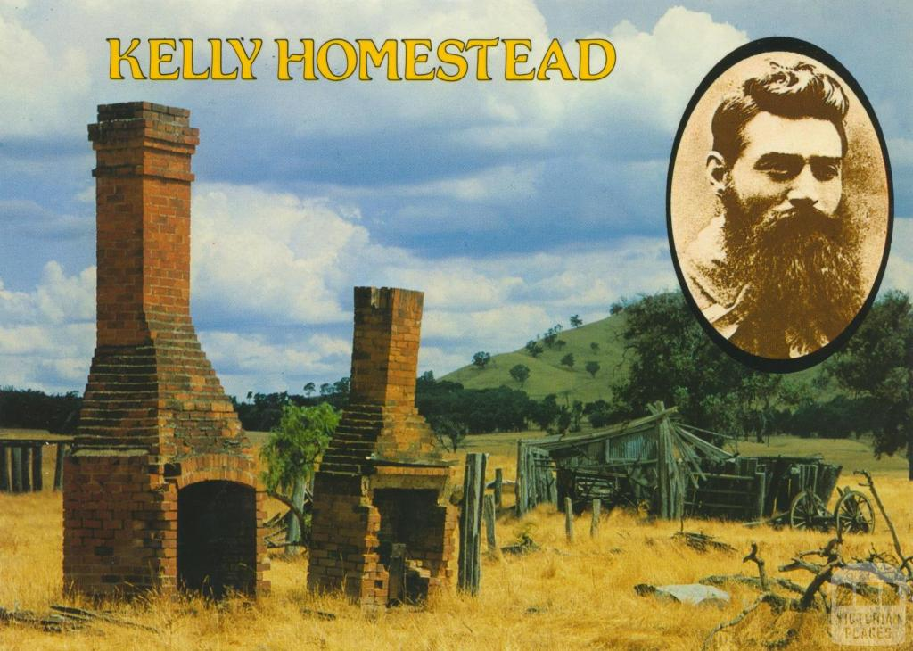 The remains of the Kelly home 'Glenrowan', Greta