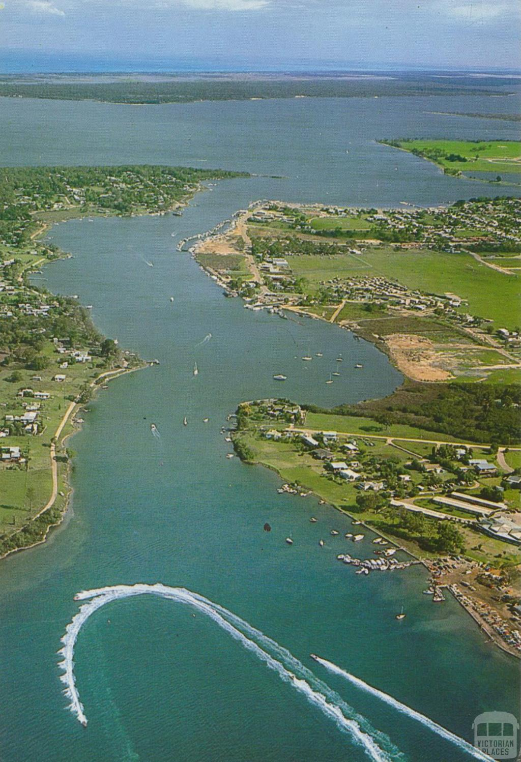 Aerial View of Lakeside, Paynesville