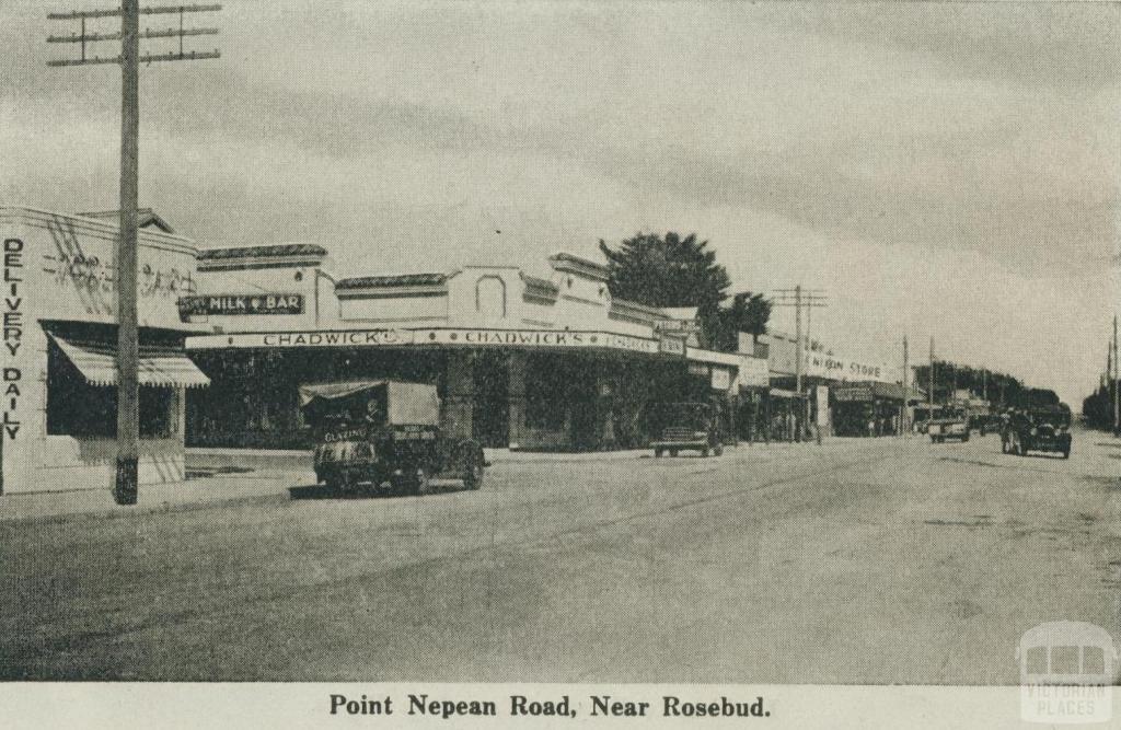 Point Nepean Road, near Rosebud, 1942