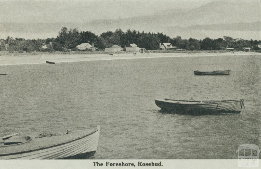 The Foreshore, Rosebud, 1942