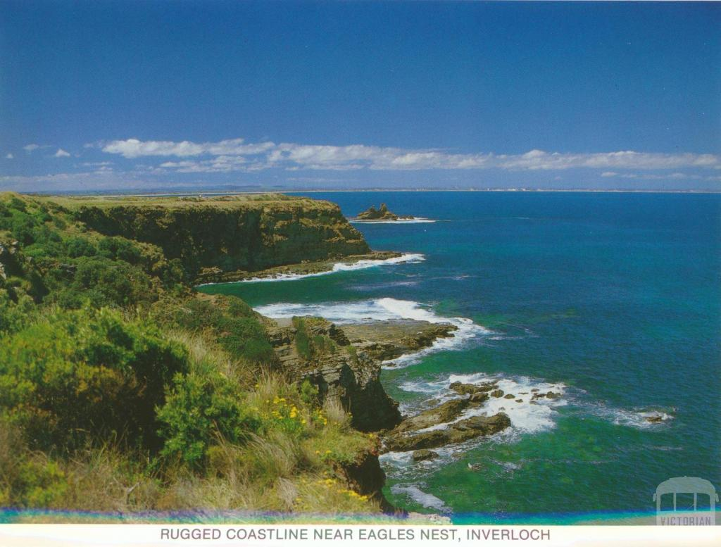 Rugged Coastline near Eagles Nest, Inverloch
