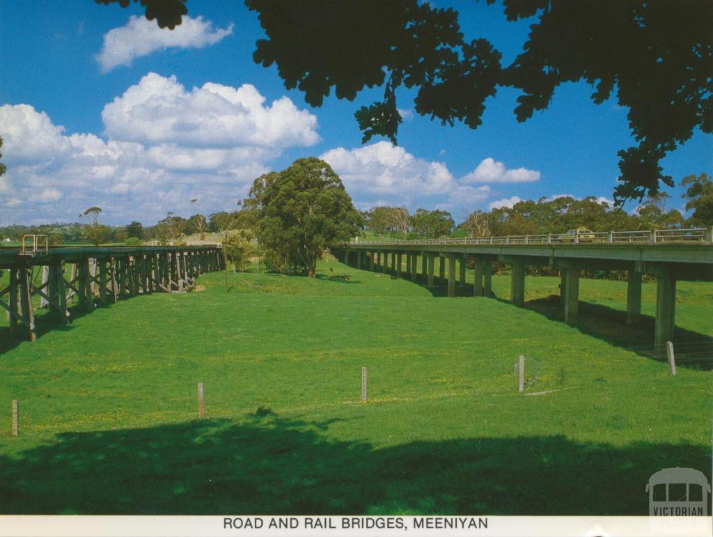 Road and Rail Bridges, Meeniyan