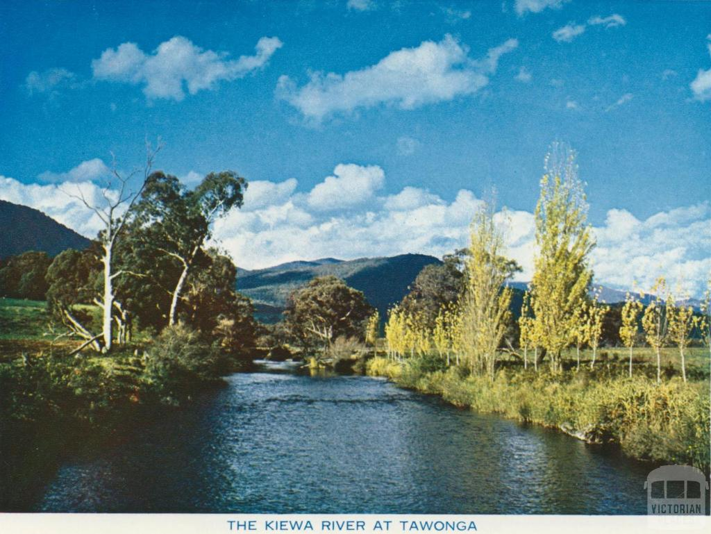 The Kiewa River at Tawonga