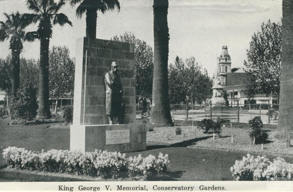 King George V Memorial Conservatory Gardens, Bendigo