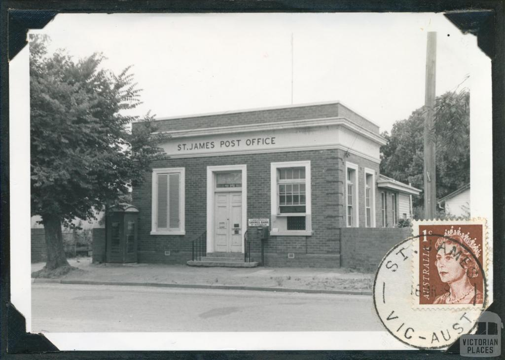 Post Office, opened 1882, St James, 1967