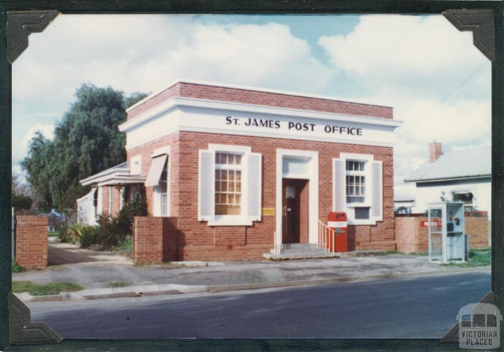 St James Post Office, 1981