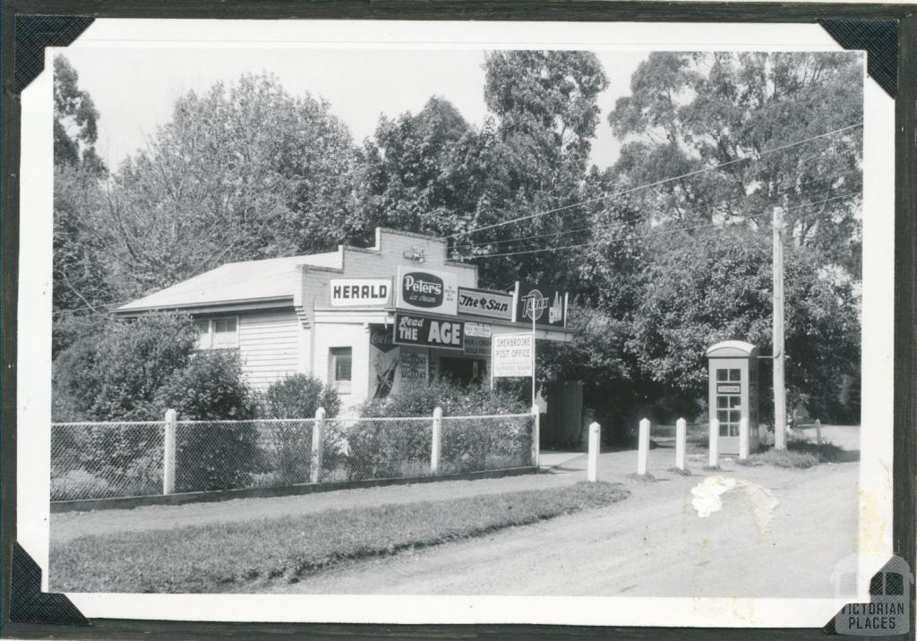 Sherbrooke Post Office and General Store, 1970