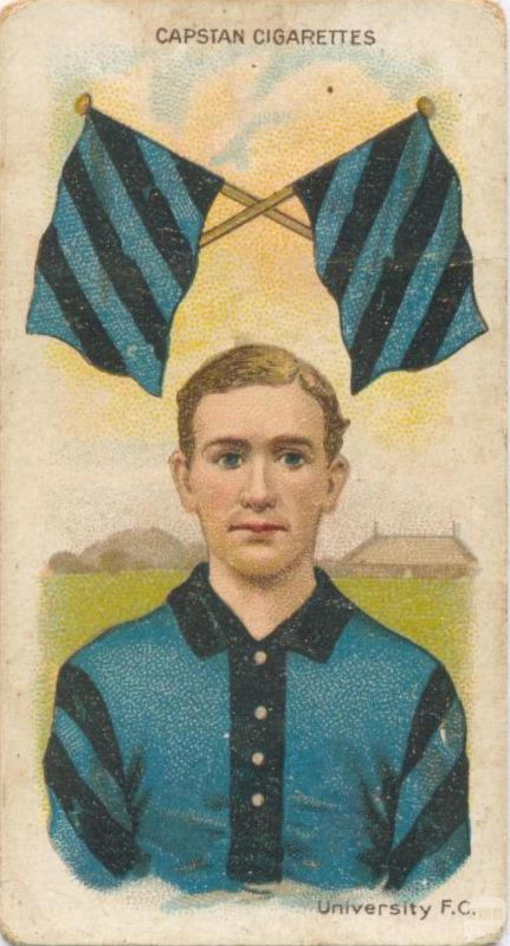 University Football Club, Capstan Cigarettes Card