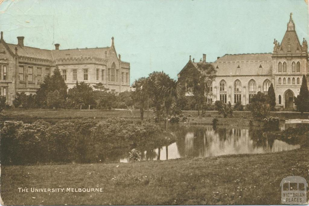 The University of Melbourne, 1905