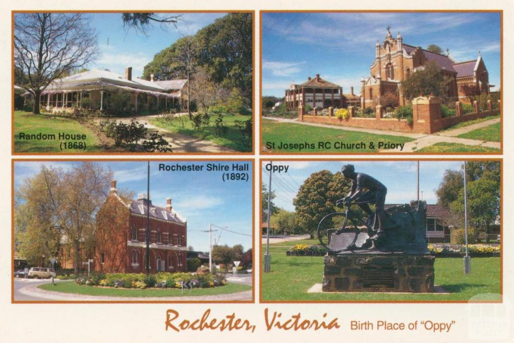 Views of historic Rochester