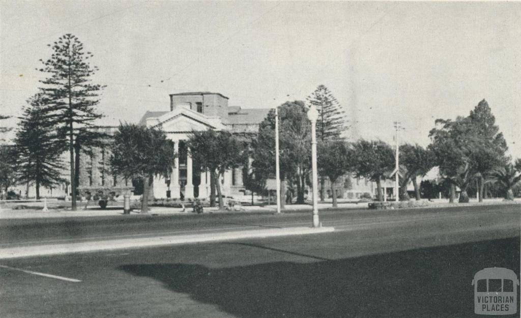 Town Hall, St Kilda