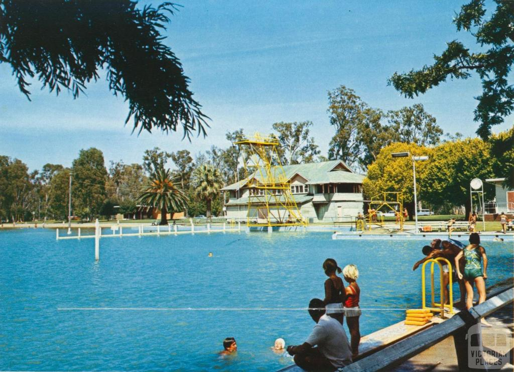 The Raymond West Swimming Pool, Shepparton