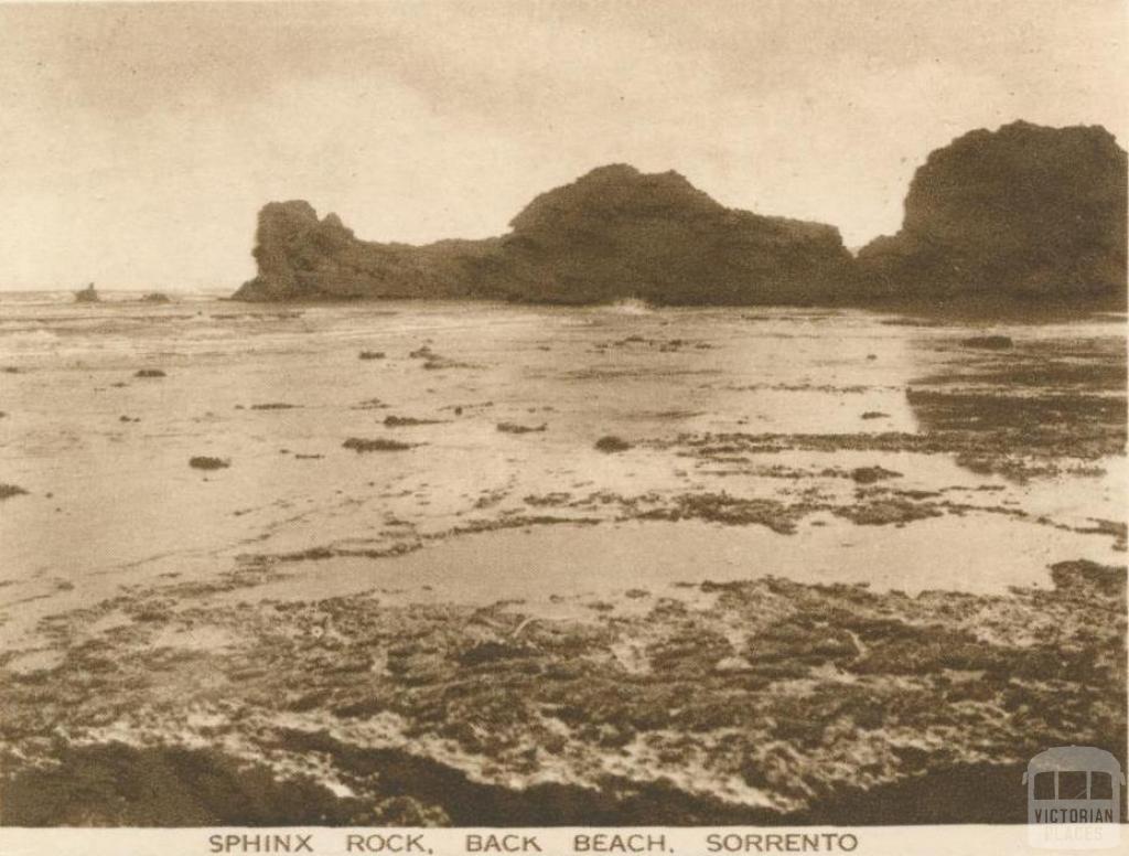 Sphinx Rock, Back Beach, Sorrento