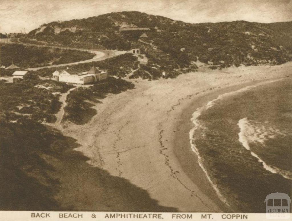 Back Beach and Amphitheatre, from Mt Coppin, Sorrento