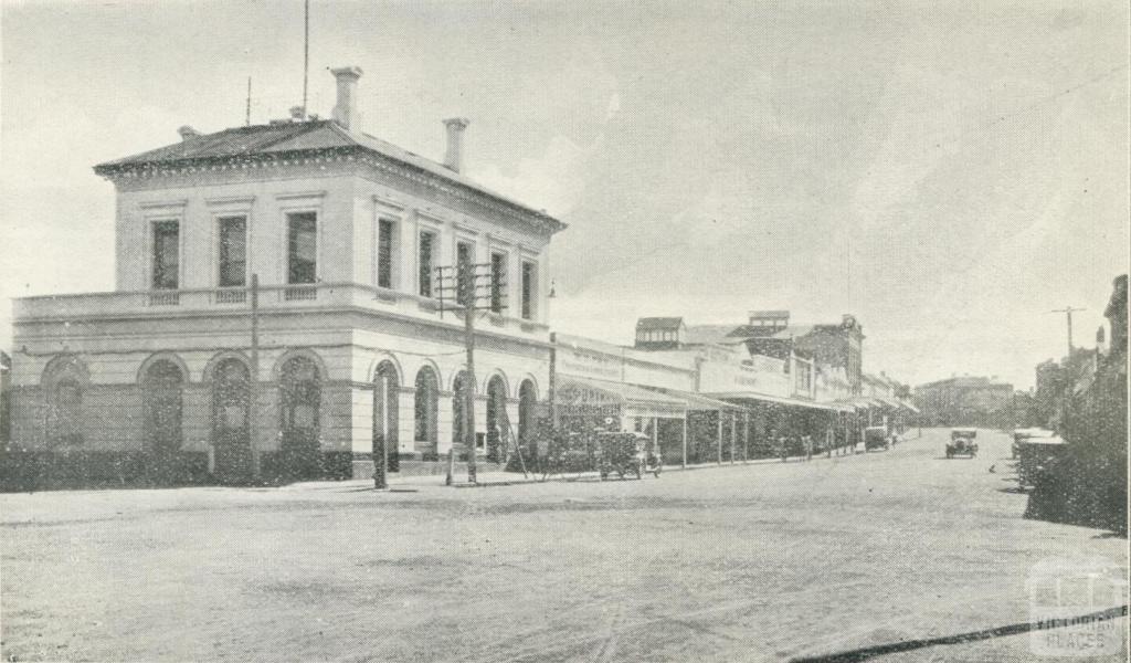 Post Office, Main Street, Stawell, 1935