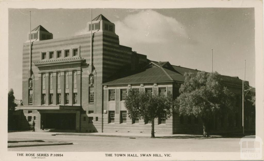 The Town Hall, Swan Hill