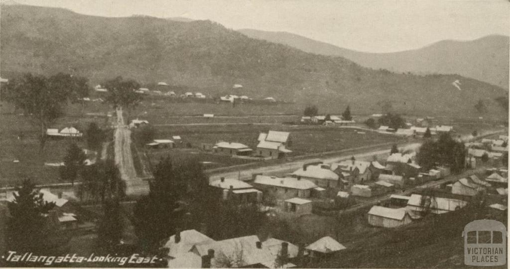 Tallangatta looking East