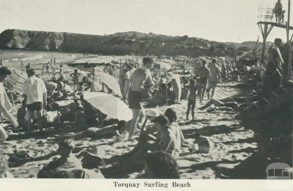 Torquay Surfing Beach