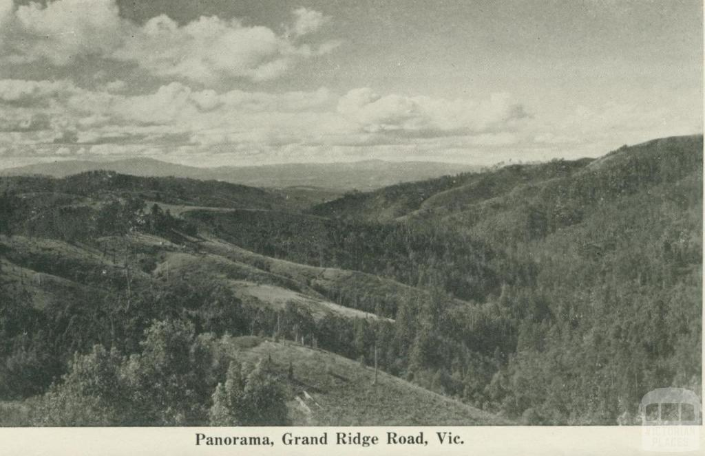 Panorama, Grand Ridge Road